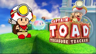 TOAD B#TCH ASS GOT HIS OWN GAME!? [CAPTAIN TOAD: TREASURE TRACKER] [GAMEPLAY]