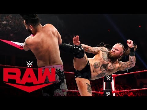 Aleister Black crushes The Singh Brothers: Raw, Oct. 7, 2019