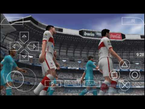 PES 2017 (PPSSPP) REAL MADRID 8 X 1 CRB Liga Master