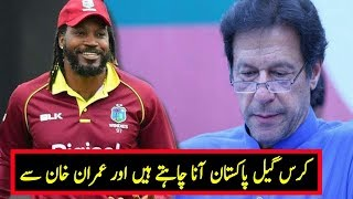 Chris Gayle Want To Come Pakistan and Meet Prime Minister Imran Khan|Chris Gayle Praising Imran Khan