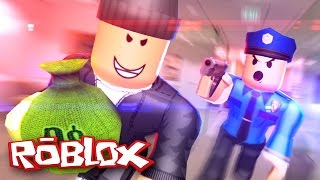 Roblox Adventures / Cops and Robbers / Robbing a Bank!