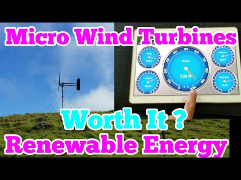 MICRO WIND TURBINES... ARE THEY WORTH IT? (OFF GRID SOLAR)