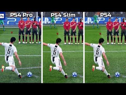 FIFA 19   PS4 Pro VS PS4 Slim VS PS4   4K Graphics Comparison