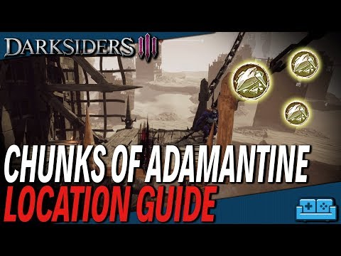 Darksiders 3: All Chunks of Adamantine Locations | Fully