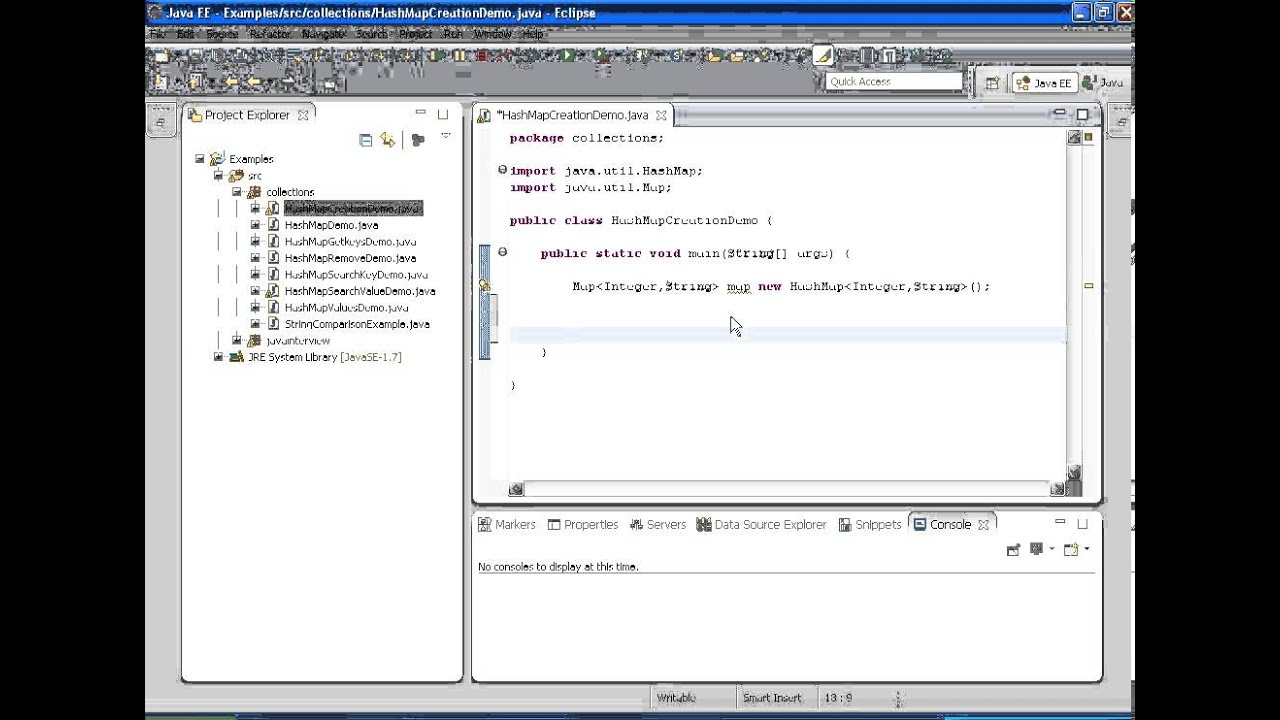 Java Example 1: How to add elements to HashMap - YouTube