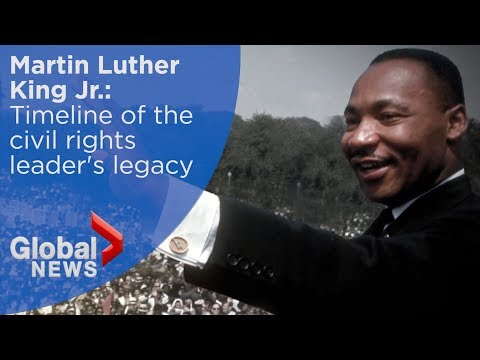 TIMELINE: Martin Luther King Jr.'s civil rights accomplishments