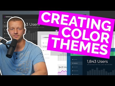 Creating Color Themes For Your Websites & Apps