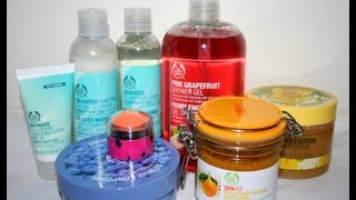 The Body Shop Haul July 2012