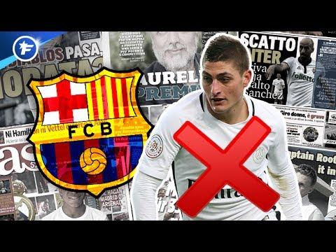 Le Barça prêt à lâcher Verratti | Revue de presse