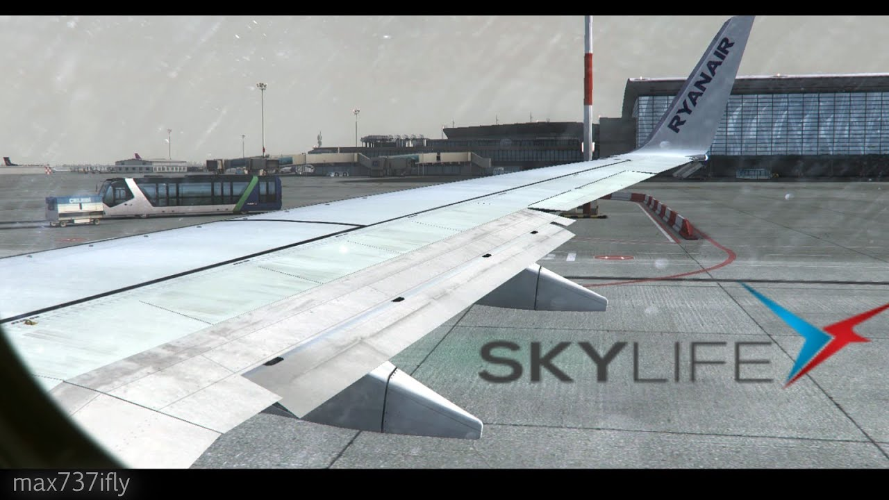 FSX Flight Simulator X HD - Realistic takeoff from Budapest! [HD]