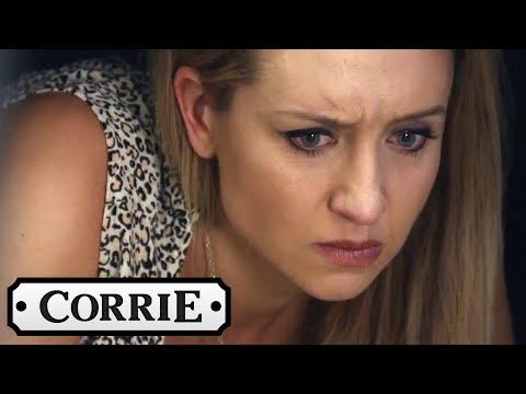 Eva Hears Something She Wasn't Supposed to Hear - Coronation Street