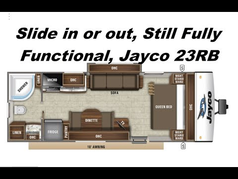 NEW! Jayco Feather 23RB, Great Couples Trailer!