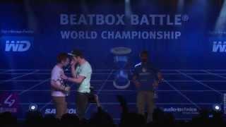 NaPoM vs Alexinho - 1/4 Final - 4th Beatbox Battle World Championship