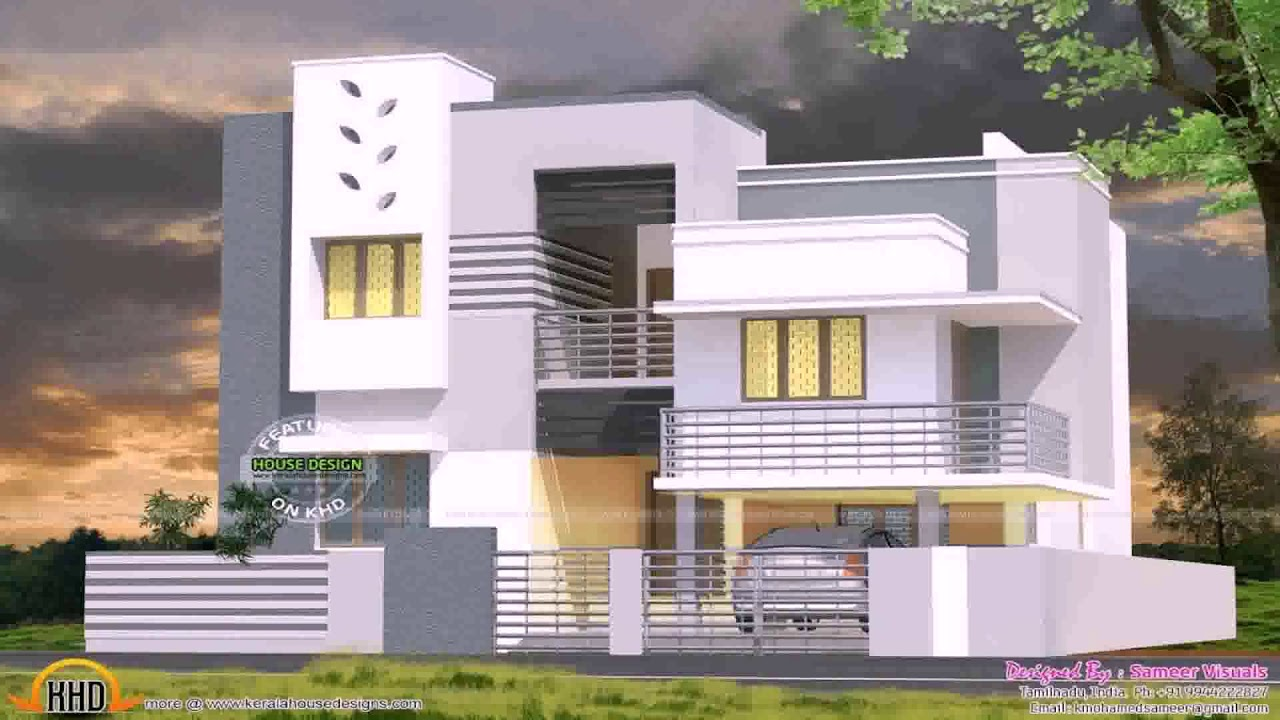 House Design With Full Ground Floor Parking Gif Maker