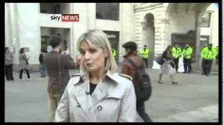 **Shocking Breaking News** London_City Showdown Protesters Face The Bankers