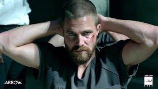 """Arrow 7x01 Sneak Peek #2 """"Inmate 4587"""" Season 7 Episode 1"""