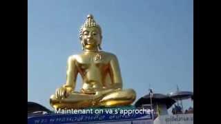 Le Triangle d'Or - La statue de Bouddha