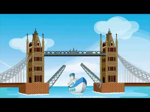 London Bridge Is Falling Down  Kids songs and Nursery Rhymes  EFlashApps