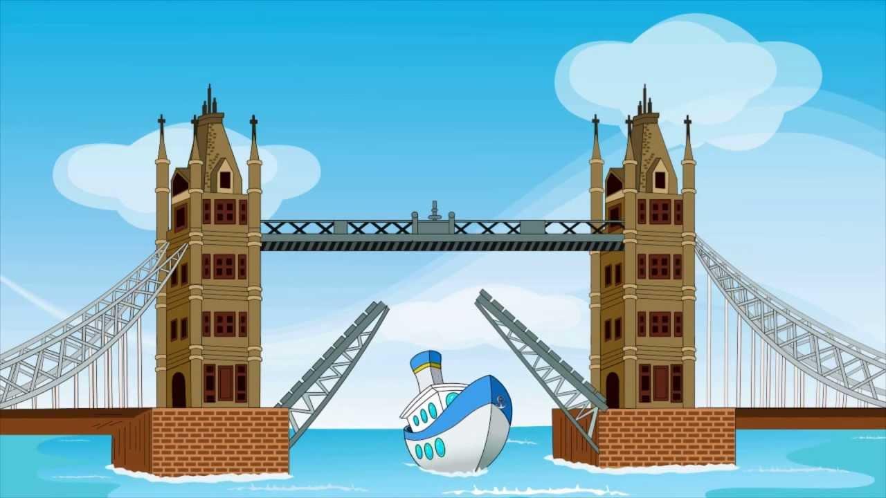 London Bridge Is Falling Down Kids Songs And Nursery Rhymes By