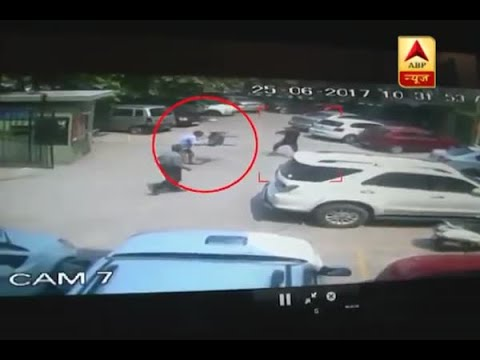 CCTV Footage Revealed: Senior citizen shot dead in Delhi's Rohini