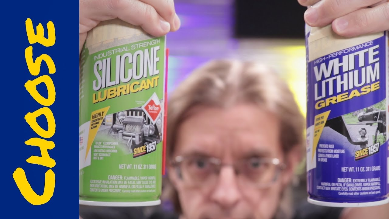 Lithium grease vs silicone grease: Which to use?