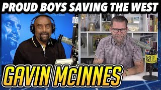 Gavin McInnes on White History Month; Proud Boys Fight for Western Men