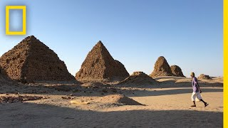 Inside the Burial Chambers of Sudans Royal Pyramids: Exclusive | National Geographic