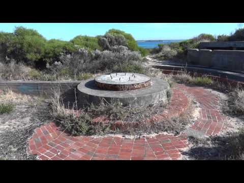 Metal Detecting Point Peron WW2 Gun Coastal Defence post