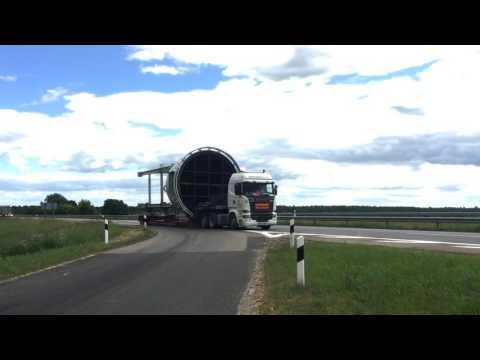 Baltkonta Oversized cargo transportation