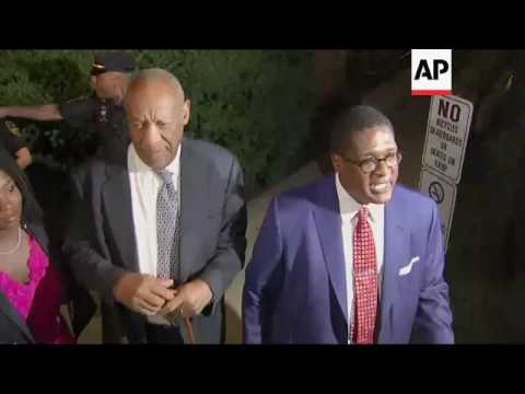 Bill Cosby speaks to media as jurors at impasse after fifth day of deliberations in sexual assault c