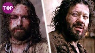 En esta escena de la pasión de cristo ocurrió un extraño suceso que cambio la vida de un actor