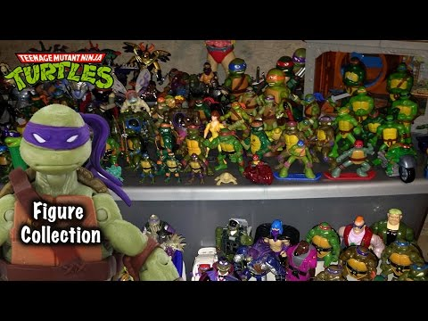 Ninja Turtle Action Figure Collection Collection!