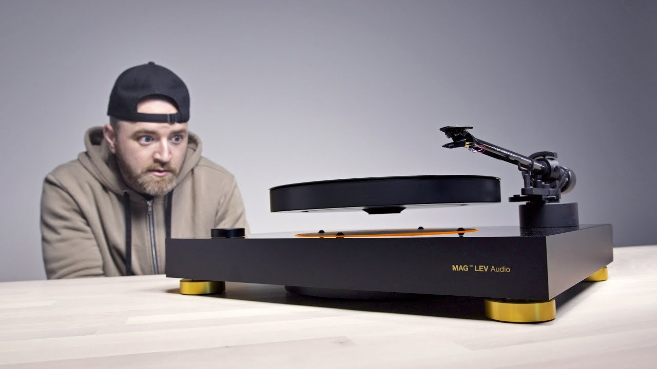 The Levitating Turntable - What Magic Is This?