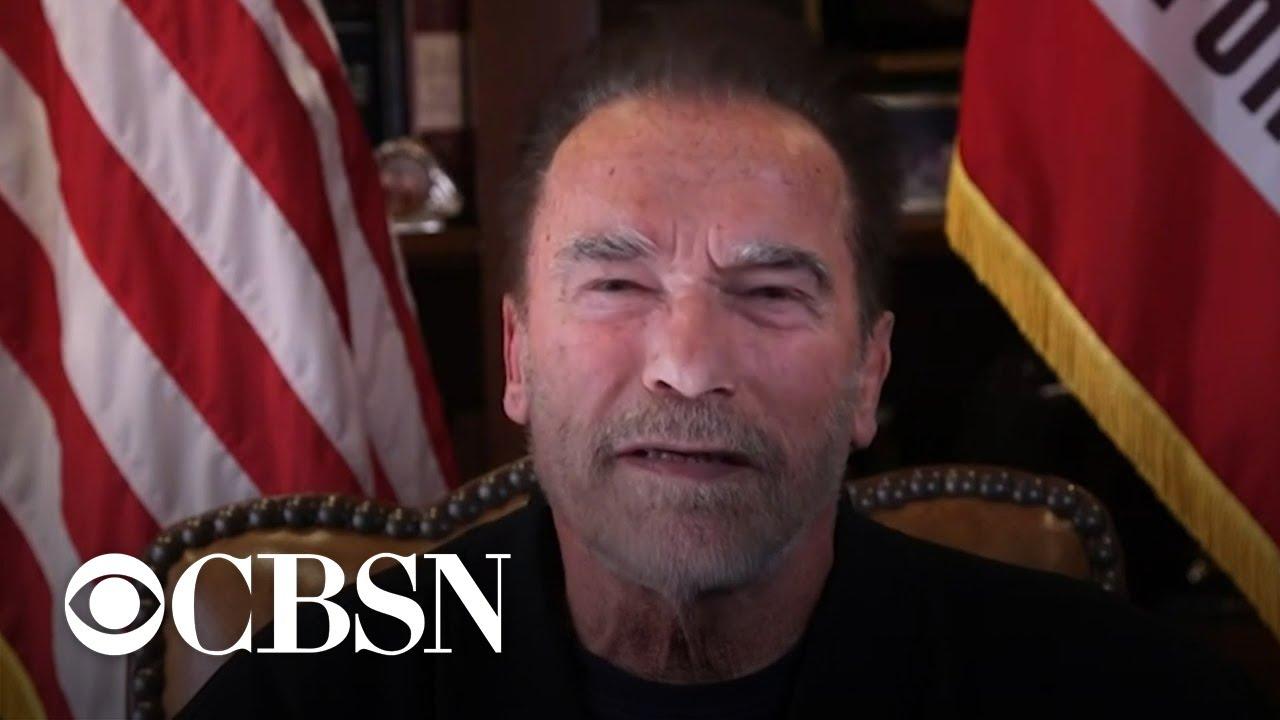 Arnold Schwarzenegger condemns Capitol assault, compares attack ...
