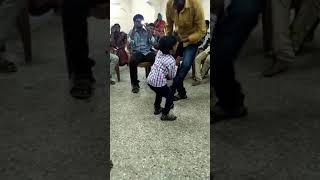 Kids dance... With out music... Enjoy