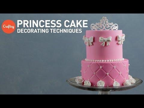 Princess Cake Ideas Tiara Rose Sugar Designs