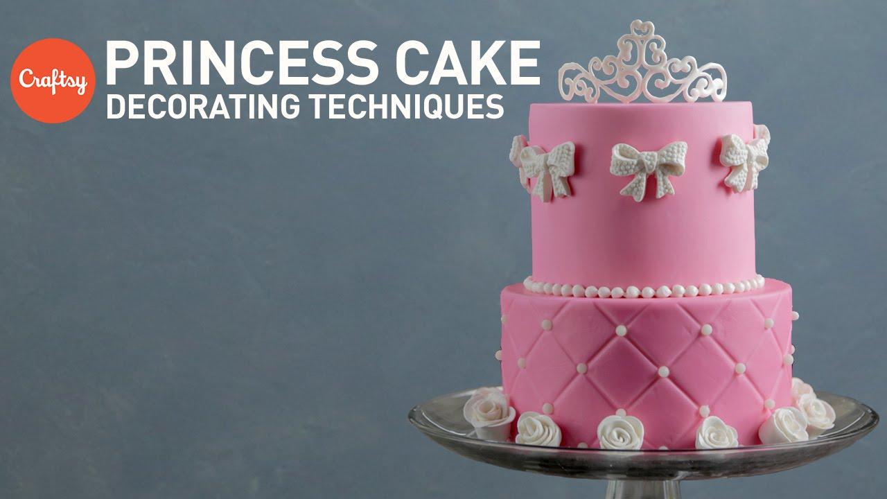 Princess Cake Ideas Tiara Rose Sugar Designs Fondant Cake