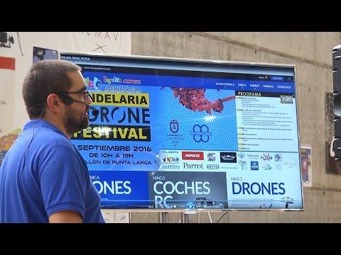 Completo reportaje sobre el Candelaria #Drone Festival de la Radio televisión Canaria @RTVCES