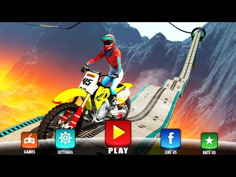 Bike Games Android: Impossible Motor Bike Tracks   Motor Bike Games New 2017   Motocross Racing 2017