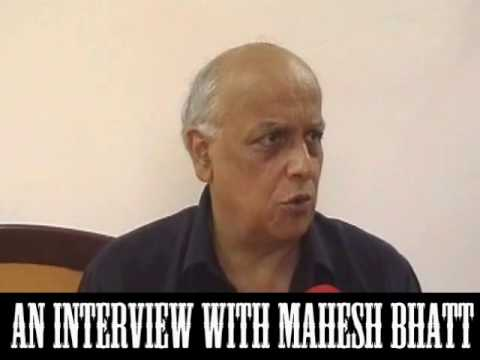 Interview with Mahesh Bhatt