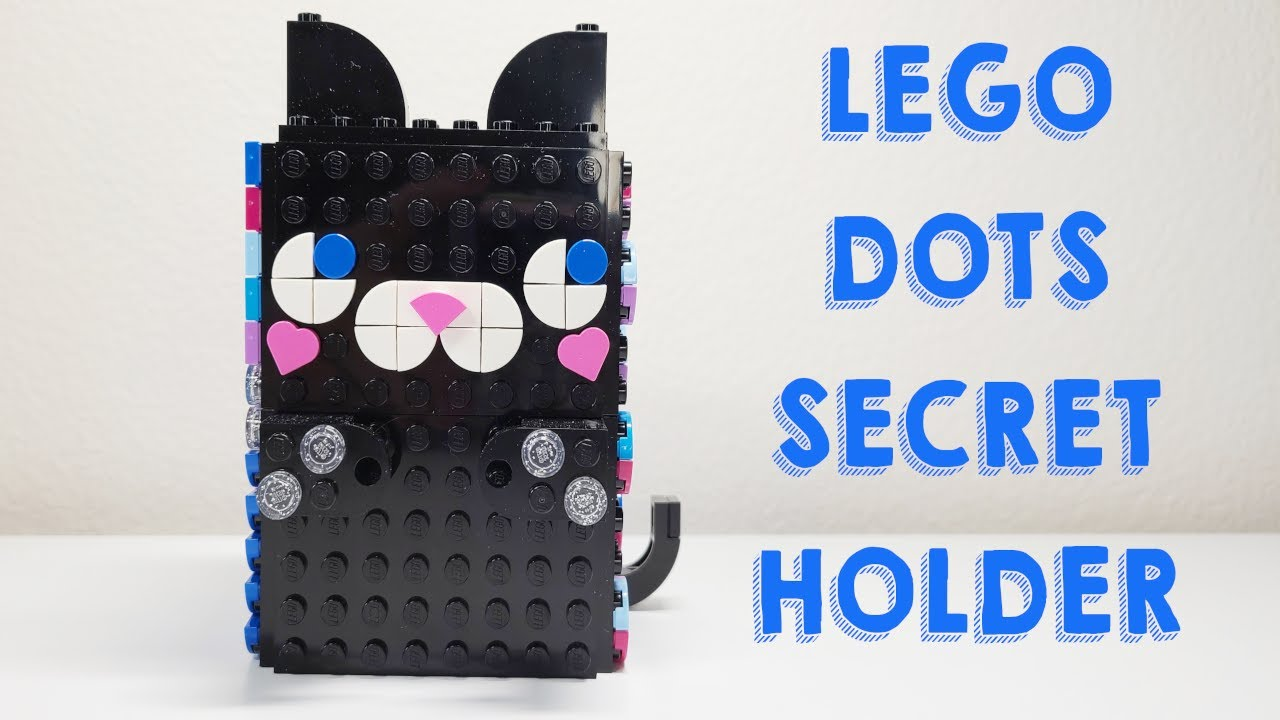 LEGO Dots Secret Holder Speed Build and Review   YouTube
