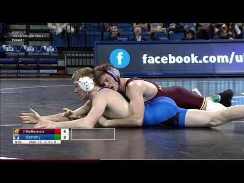 buffalo vs central michigan wrestling dual highlights