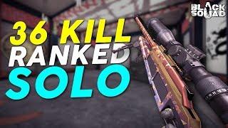 36 Kill Ranked Solo Match vs Kana! (Black Squad)
