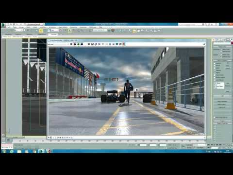 Vray animation rendering tutorial 2