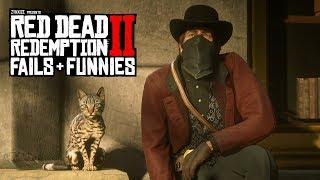 Red Dead Redemption 2 - Fails & Funnies #49