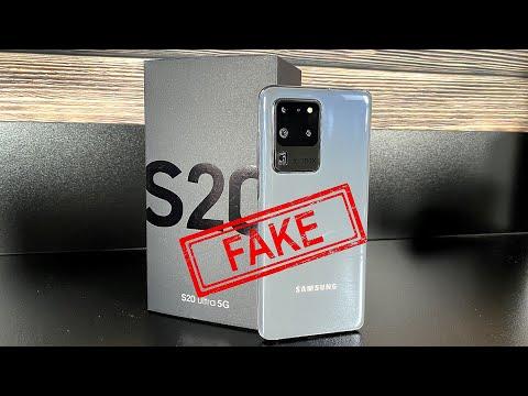 Samsung Galaxy S20 Ultra 5G - Clone/Fake - It's so real!