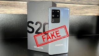 Samsung Galaxy S20 Ultra 5G - Clone/Fake - It's so real!