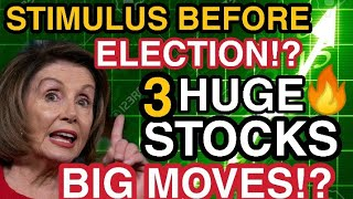 THE STOCK MARKET EXPLODING NEXT WEEK?!! STIMULUS PACKAGE PASSING SOON? TOP STOCKS TO BUY NOW?