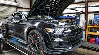 FIRST 2020 SHELBY GT500 TO HIT THE DYNO! *INSANE POWER RESULTS*
