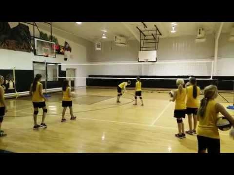 Timpson middle school vball